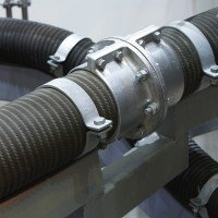 Metso Slurry Hose - Clamping System