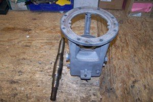 Obsolete Gould's CSO Pump Power Frame sent in to CAC for repair/refurbishment